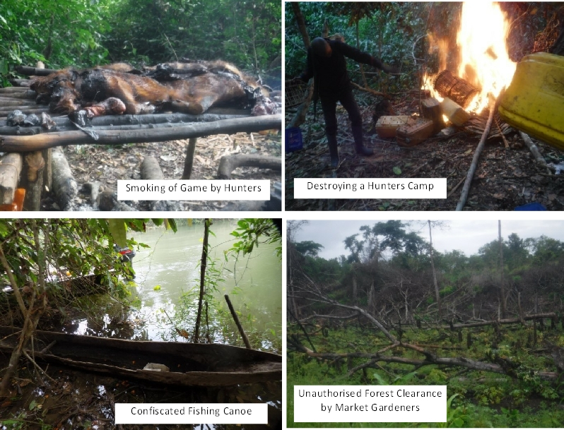 2020A-160 Congo Illegal Activities 2020 & 2021