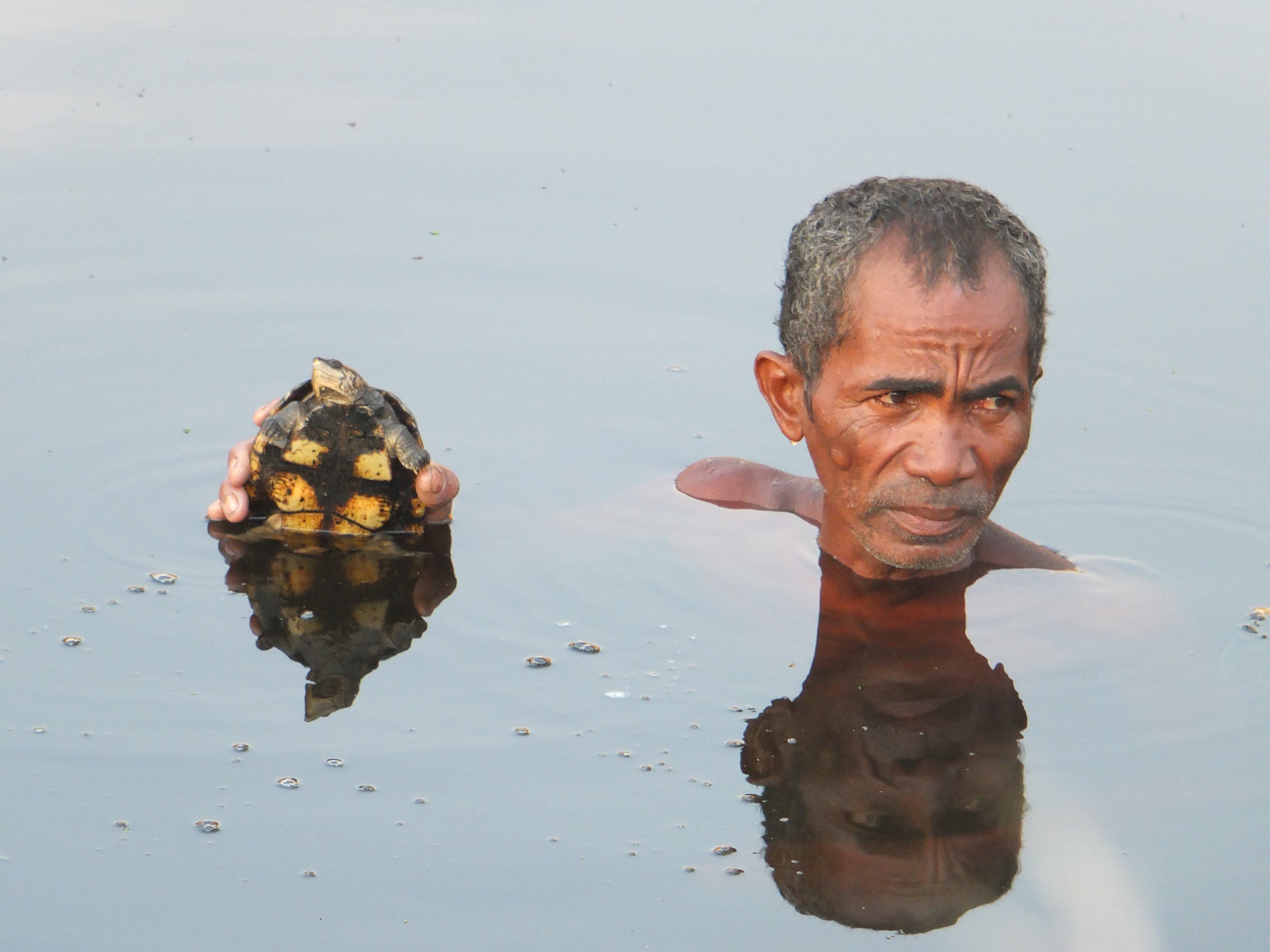 Aspinall 2020 11 Mada big-headed turtle Lucien Randrianarimanana (2)