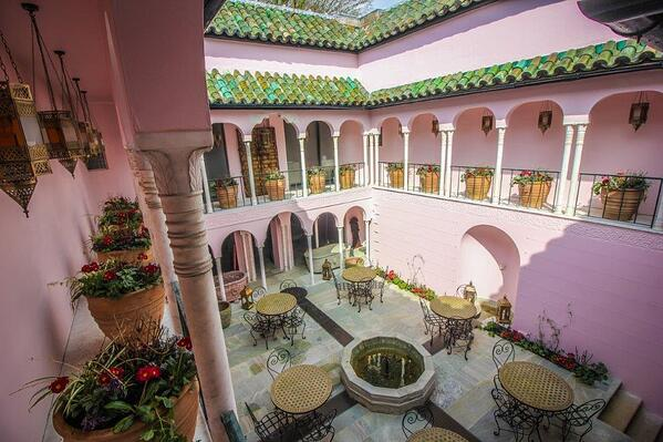 Moroccan Courtyard opens at Port Lympne Hotel & Reserve